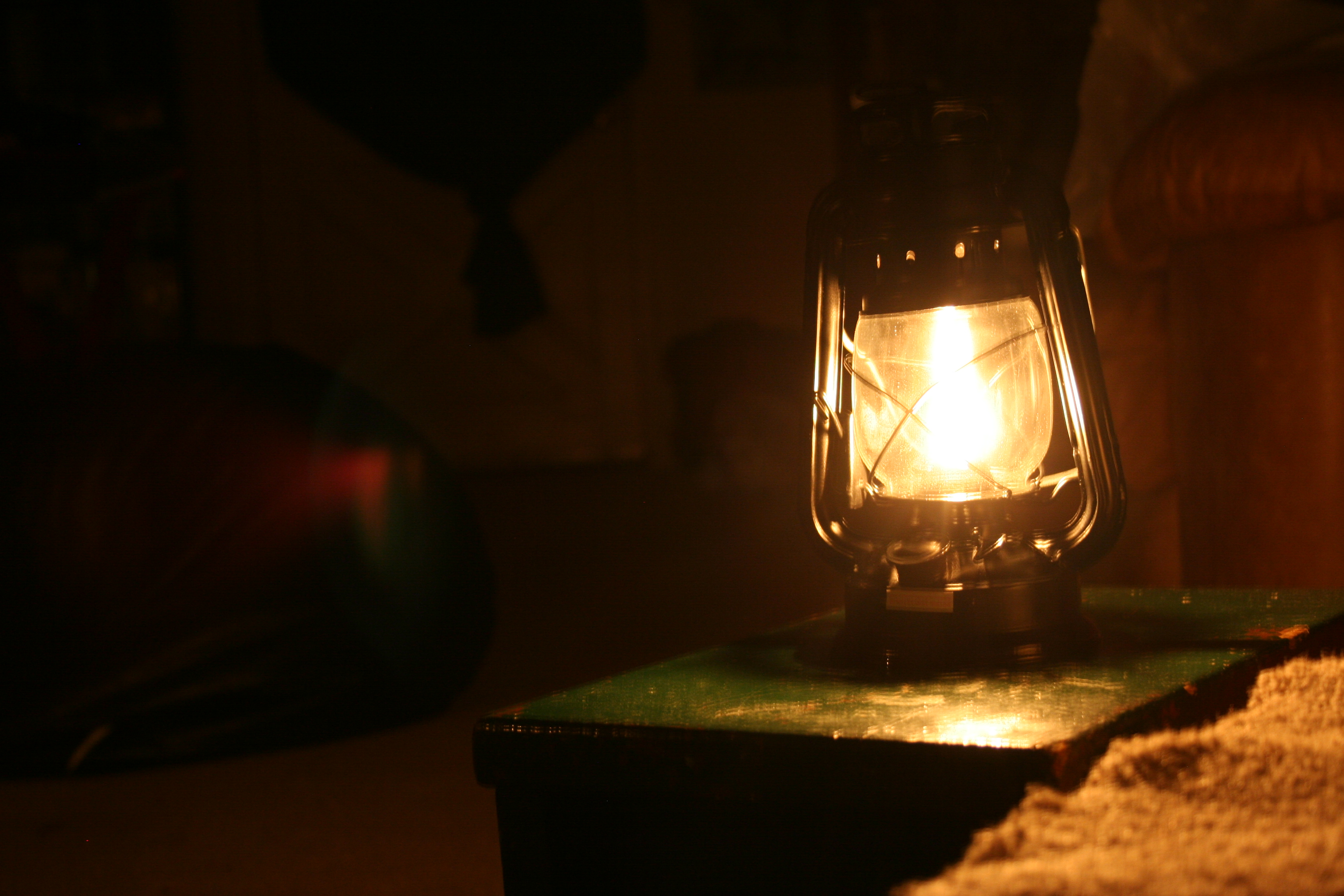 lamp and bible - photo #14