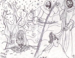 Ezekial drawing