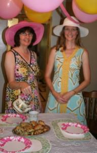 Jenn's Visit 2013 Tea party 074