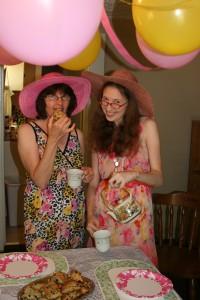 Jenn's Visit 2013 Tea party 076