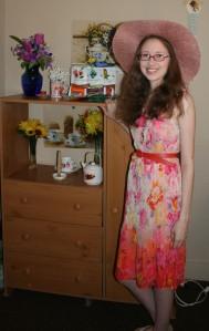 Jenn's Visit 2013 Tea party 078