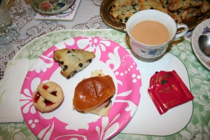 Jenn's Visit 2013 Tea party 079