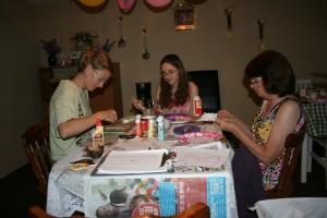 Jenn's Visit 2013 Tea party 087