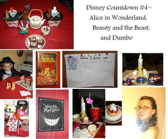 Disney Countdown 4~WonderlandDumboBeautyAndBeast