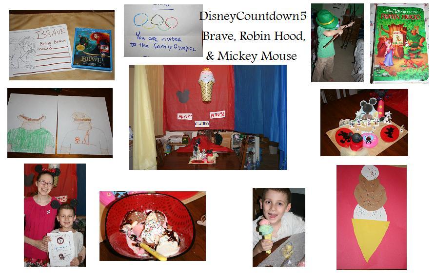 Disney Countdown 5