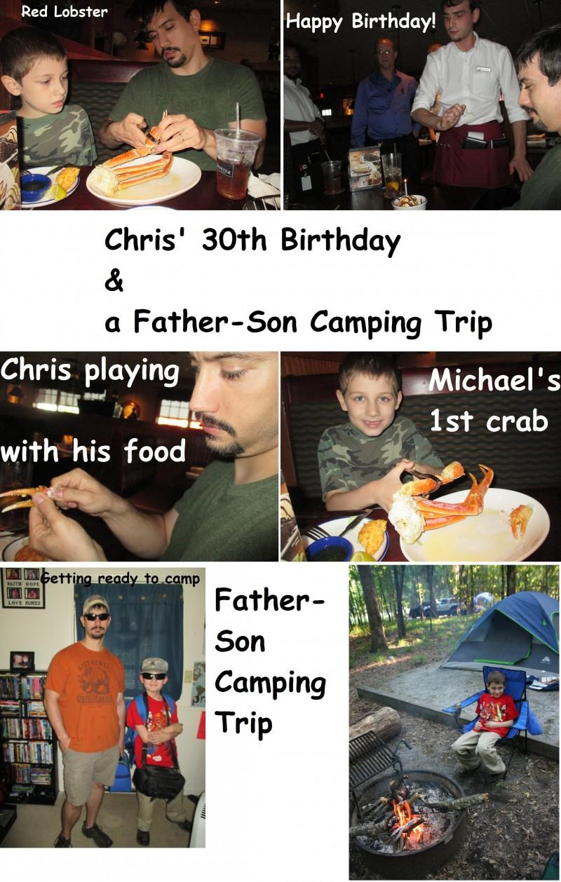 30thBday&Camping